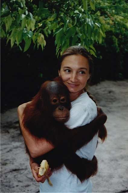 Camp Leakey Kalimantan, Borneo Indonesia 1997 Como