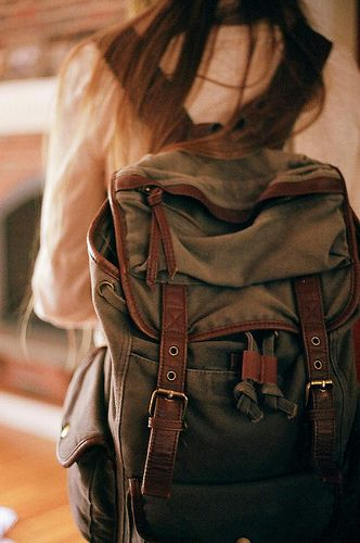 backpack is cute, and looks sturdy enough... But I don't need one, I just really want one and hope that I may need it and use it one day :)