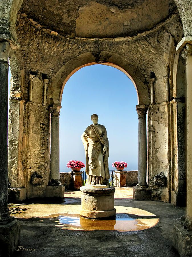 Villa Cimbrone is a historic building in Ravello, Italy on