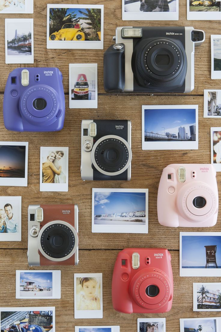 Perfect for a day at the beach, a night on the town, or just hanging out friends.  With these instant cameras you'll be ready to shoot and share fun instant snapshots with friends and family at a moment's notice.