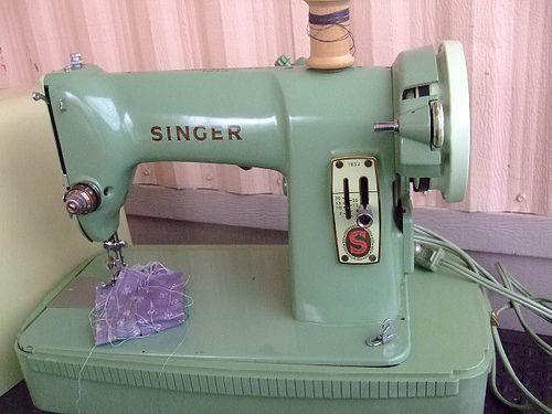 Vintage 40's Singer Machine Crafty Ideas Pinterest Sewing Interesting Singer Sewing Machine 1960