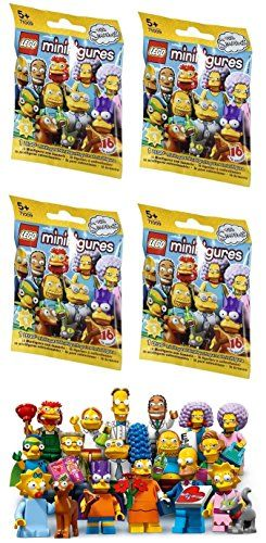 4 Packs LEGO Minifigures The Simpsons SERIES 2 71009 Figure Building Kit @ niftywarehouse.com #NiftyWarehouse #TV #Shows #TheSimpsons #Simpsons
