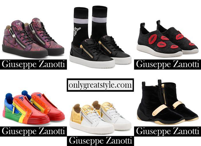 Shoes Zanotti sneakers 2018 2019 women