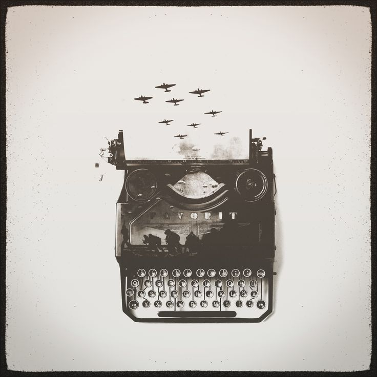 #enlightapp #war #thisiswar #typewriter #world #word #plane #destroyer #man #soldiers #fathers #brothers #sons #newcentury #life #thanks #EnlightThis #photofox