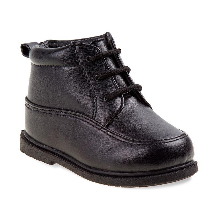 Josmo Toddler Boys' Walking Shoes, Size: 7 T, Black