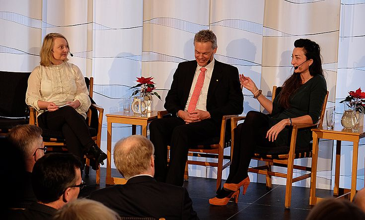 2014 NOBEL PRIZE: Teachers need to recognize students who burn with curiosity and cultivate that inquisitiveness, 2014 Nobel Laureates May-Britt and Edvard Moser said Monday in a special panel discussion on Science in Scandinavia organized by the Norwegian Embassy in Stockholm.