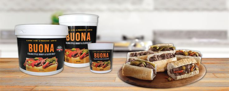Our signature Italian Beef, meatballs, and sausage are now available at your local grocer for you to enjoy right from home. Now being sold through Aldi, Jewel, Mariano's, and Peapod throughout Chicagoland (not all products and sizes are available at all locations). Visit Buona.com/At-Your-Grocer for more information! #BuonaBeef