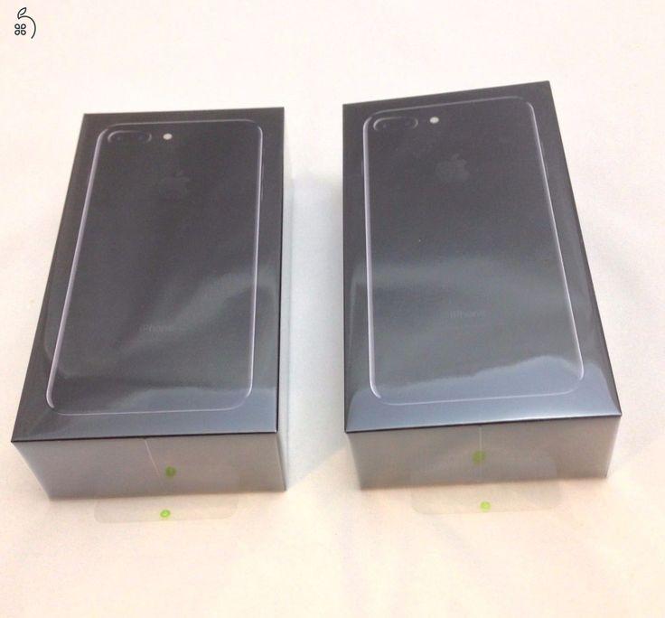 EXKLUZÍV - CSAK ITT KAPHATÓ!iPhone 7 Plus JET BLACK 128GB! Sehol nem kapható típus!AZONNAL ÁTVEHETŐK BUDAPESTEN!1 ÉV GYÁRI APPLE GARANCIÁVAL BONTATLANUL!BONTATLAN,Európai modellek, GYÁRILAG KÁRTYAFÜGGETLENEK!HÍVJ NON-STOP!