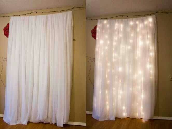 Sparkling Backdrop for do it yourself photo booth