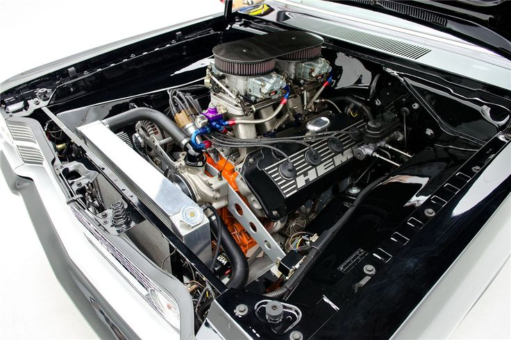 1967 DODGE DART HEMI RE-CREATION - Engine - 199826