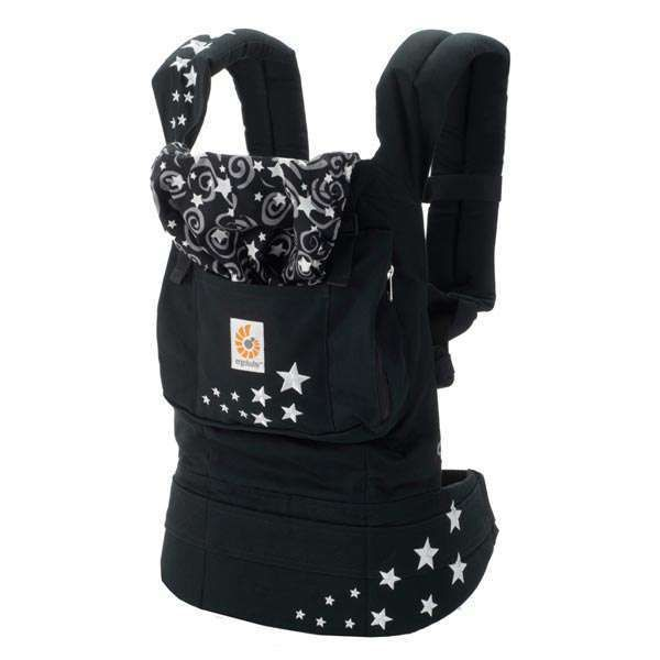 £56.99 WORLDWIDE FREE SHIPPING  New ErgoBaby Carrier with Box and Manual NIGHT SKY