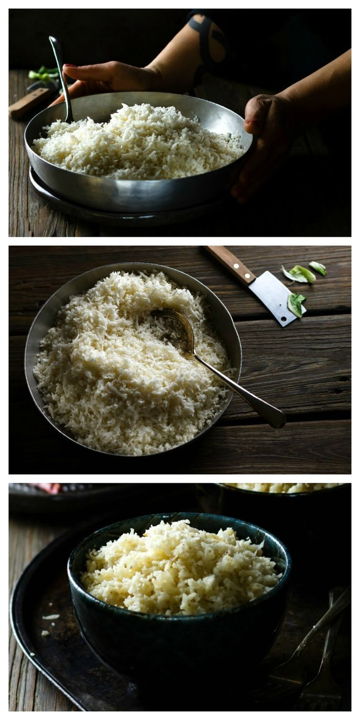 Easy Cauliflower Rice Recipe   Use cauliflower as rice and save time, carbs and calories. This easy cauliflower rice recipe will change your life!