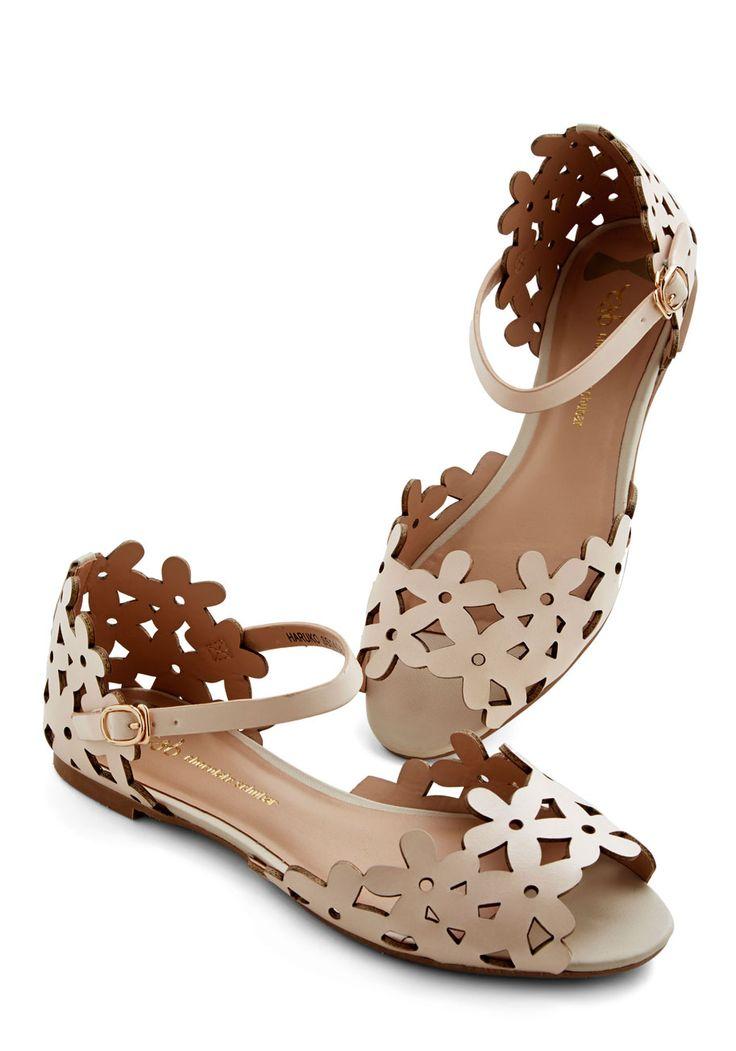 Sari Print Flat Shoes