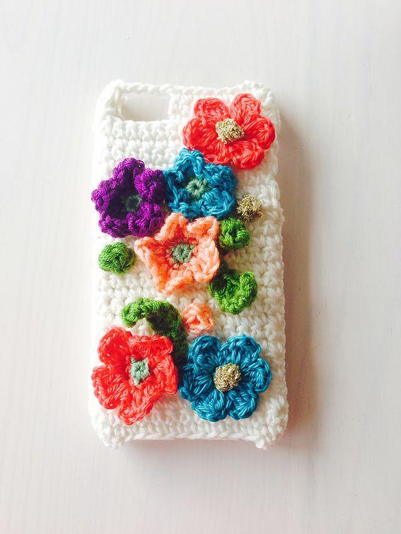 クロシェ iPhoneケースの作り方|編み物|編み物・手芸・ソーイング|作品カテゴリ|ハンドメイド・手芸のレシピ、作り方ならアトリエ