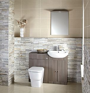Aquapure Special Suite Combined Vanity Basin & WC Unit in 3 Finishes