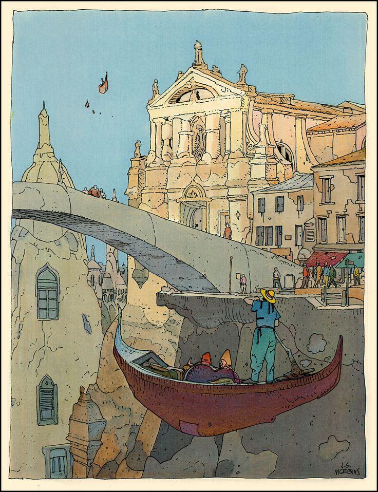 Moebius, Venise flottante