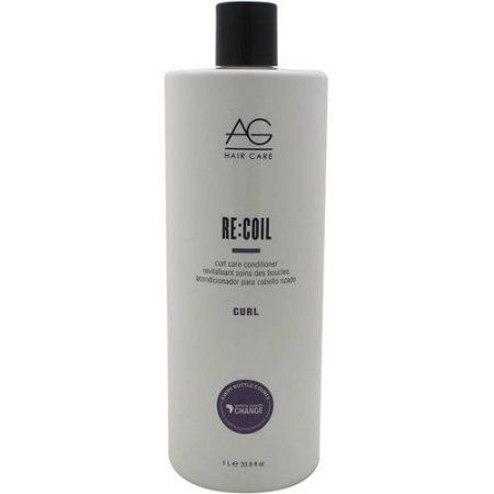 ReCoil Curl Activating Conditioner by AG Hair Cosmetics for Unisex, 33.8 oz