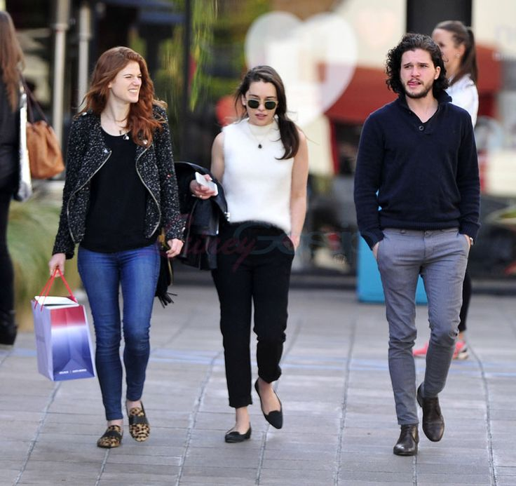 Emilia Clarke, Rose Leslie, and Kit Harington hanging out in LA|Lainey Gossip Entertainment Update