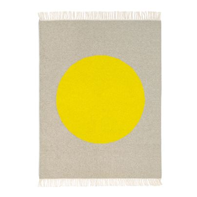 1.2x1.5m Big Spot in Bright Yellow Rug Aura home