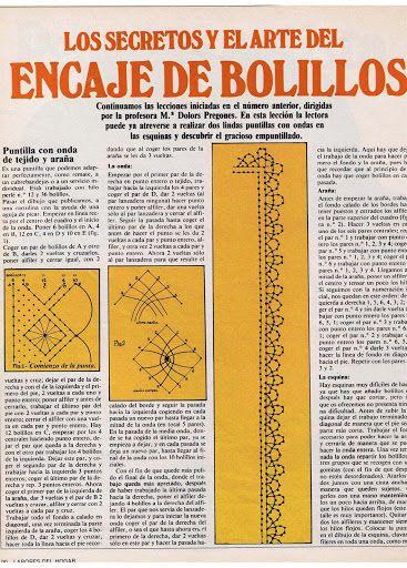 Aprender Encaje de Bolillos para principiantes – Virginia Ahumada – Picasa tīmekļa albumi: Picados Bolillos, Encaje De Bolillos, Picasa, Bolillos Para Principiantes, Aprender Encaje, Lacework Bobbin Lace Bolillos, Lacy, Encajes De