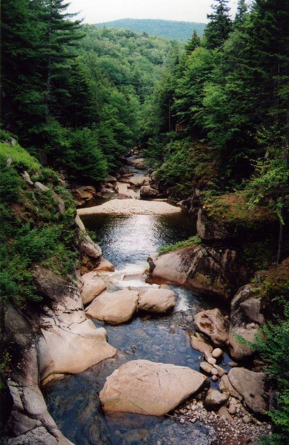 The Appalachian National Scenic Trail, Usa.