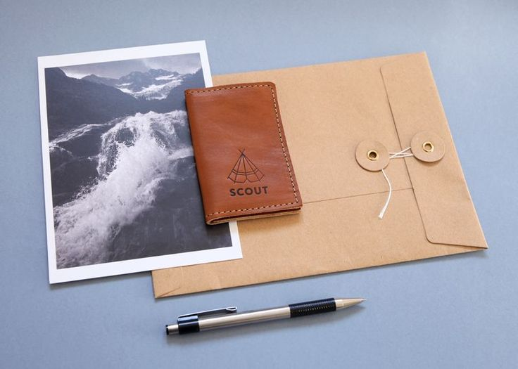 Scout Supply - leather card holder