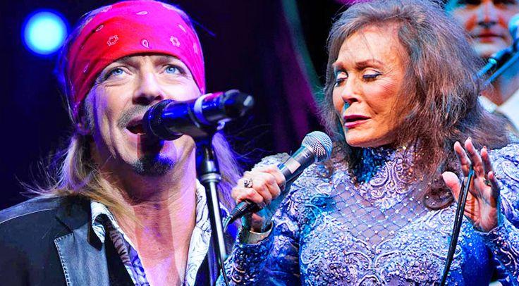 Country Music Lyrics - Quotes - Songs Loretta lynn - Loretta Lynn Rocks 'Every Rose Has Its Thorn' With Poison's Bret Michaels - Youtube Music Videos http://countryrebel.com/blogs/videos/19968579-loretta-lynn-rocks-every-rose-has-its-thorn-with-poisons-bret-michaels