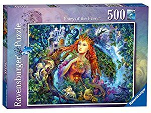 Ravensburger Fairyworld No.1 - Fairy of the Forest 500pc Jigsaw Puzzle