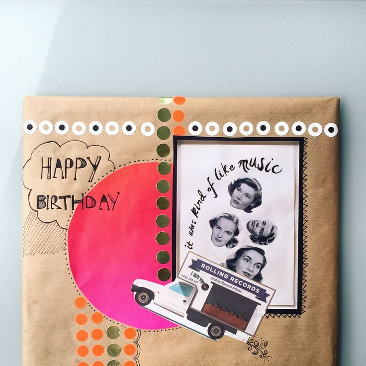 Another year older | Custom collage | A classic record for your collection