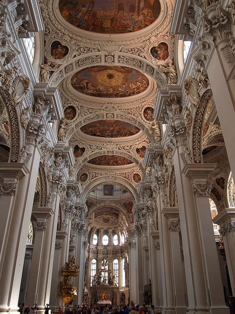 78 best baroque rococo architecture images on pinterest for Baroque style church