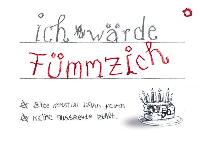 Einladung Geburtstag (Fümmzich)   . **Mindestbestellmenge U2026 10 STK!! **  **Nur 1 Karte In Den Warenkorb Legen!! Stückzahl Als Nachricht Mitteilen!