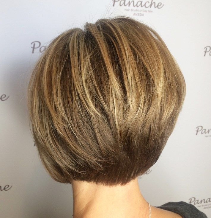 60 Most Prominent Hairstyles For Women Over 40 Short Stacked Bob Haircuts Haircuts For Thin Fine Hair Bob Hairstyles For Fine Hair