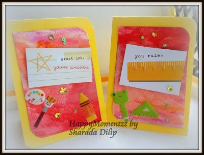 HappyMomentzz crafting by Sharada Dilip: Teachers Day Cards & Gifts Ideas