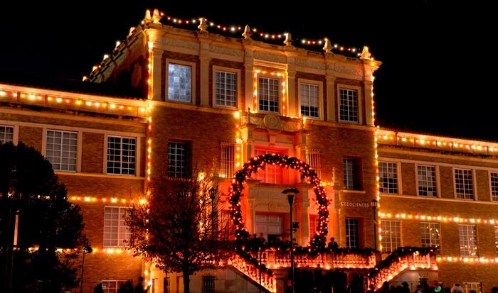 Texas Tech Carol of Lights. I miss this.