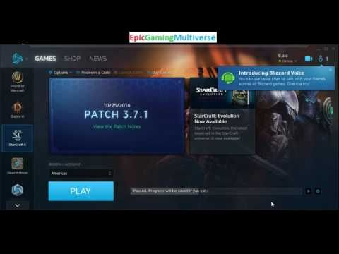 Tutorial For How To Download An Update For StarCraft II On Battle.net On The PC This video features the Tutorial For How To Download An Update For StarCraft II On Battle.net On The PC. You will need to have Battle.net and Star Craft 2 already installed on your computer to be eligible to download an update for the game.