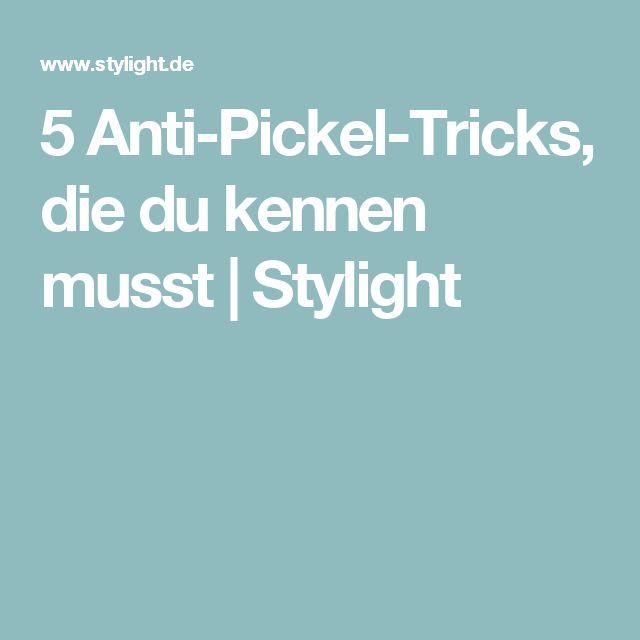 5 Anti-Pickel-Tricks, die du kennen musst | Stylight