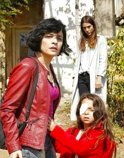 """Anne dizisi; new Turkish series """"Anne"""" with the main characters Cansu Dere and Vahide Perçin"""