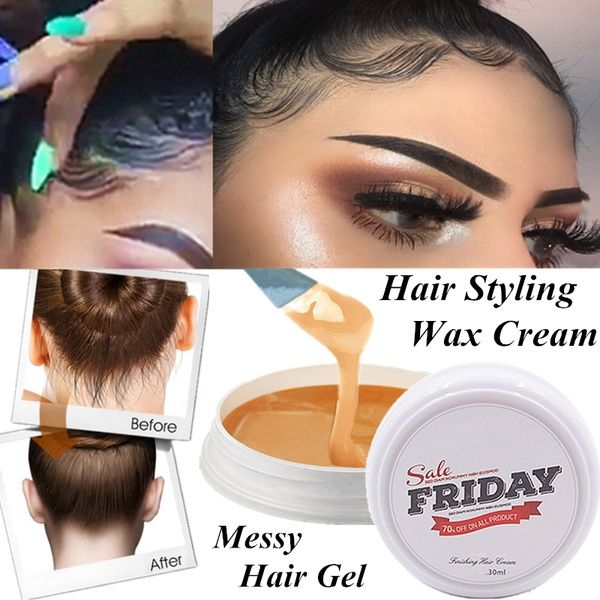 Wish 1pcs Professional Hair Wax Pomade Hair Styling Wax Skeleton Cream Slicked Oil Mud Hair Wax Cream Hair Styling Gel For Wome Styling Gel Hair Wax Hair Gel