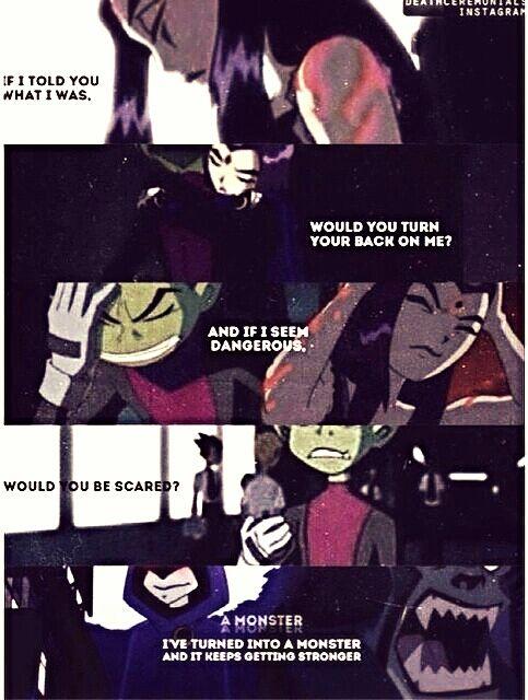 Raven(Ravena)/Beastboy (Mutano)