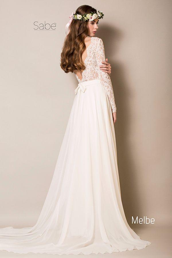 suknie ślubna 2016 Sabe wedding dress boho zwiewna