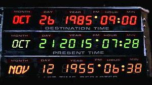 Back to the Future day october 21 2015