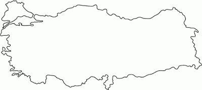 Türkiye Haritası Denenecek Projeler Turkey Outline Turkey Flag