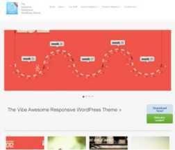 Template vFlex Wordpress Theme