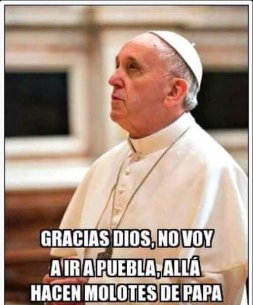 Reciben al Papa Francisco... ¡con memes!
