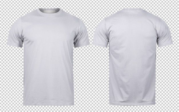 Grey T Shirt Front And Back Mock Up Template For Your Design Free T Shirt Design Polo Shirt Design T Shirt
