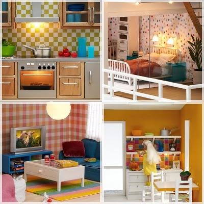 modern doll house LOVE!