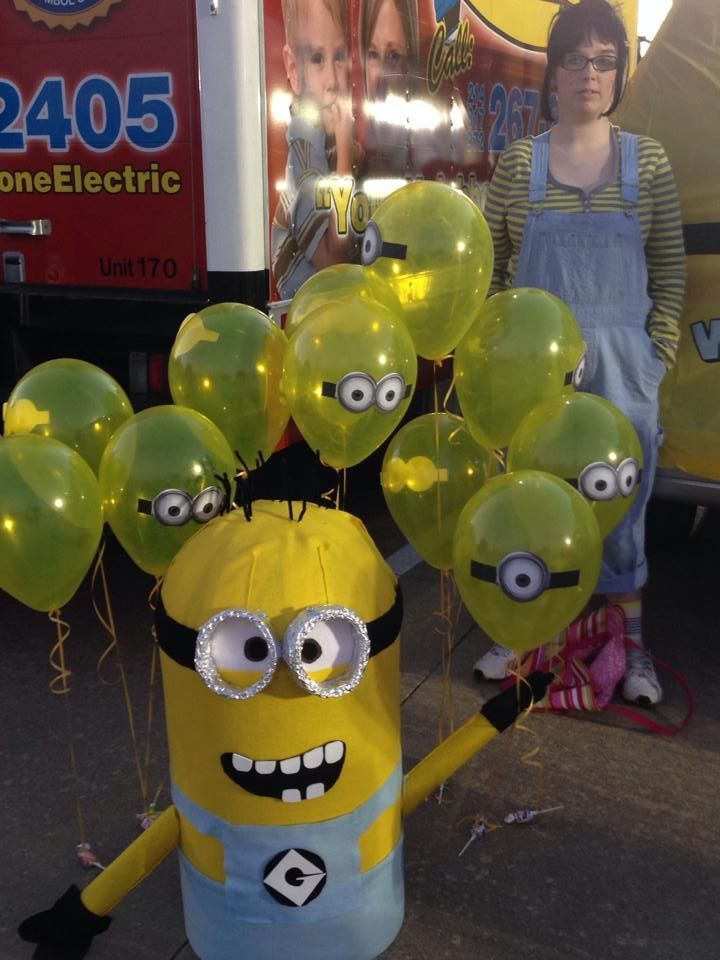 despicable me trunk or treat ideas google search