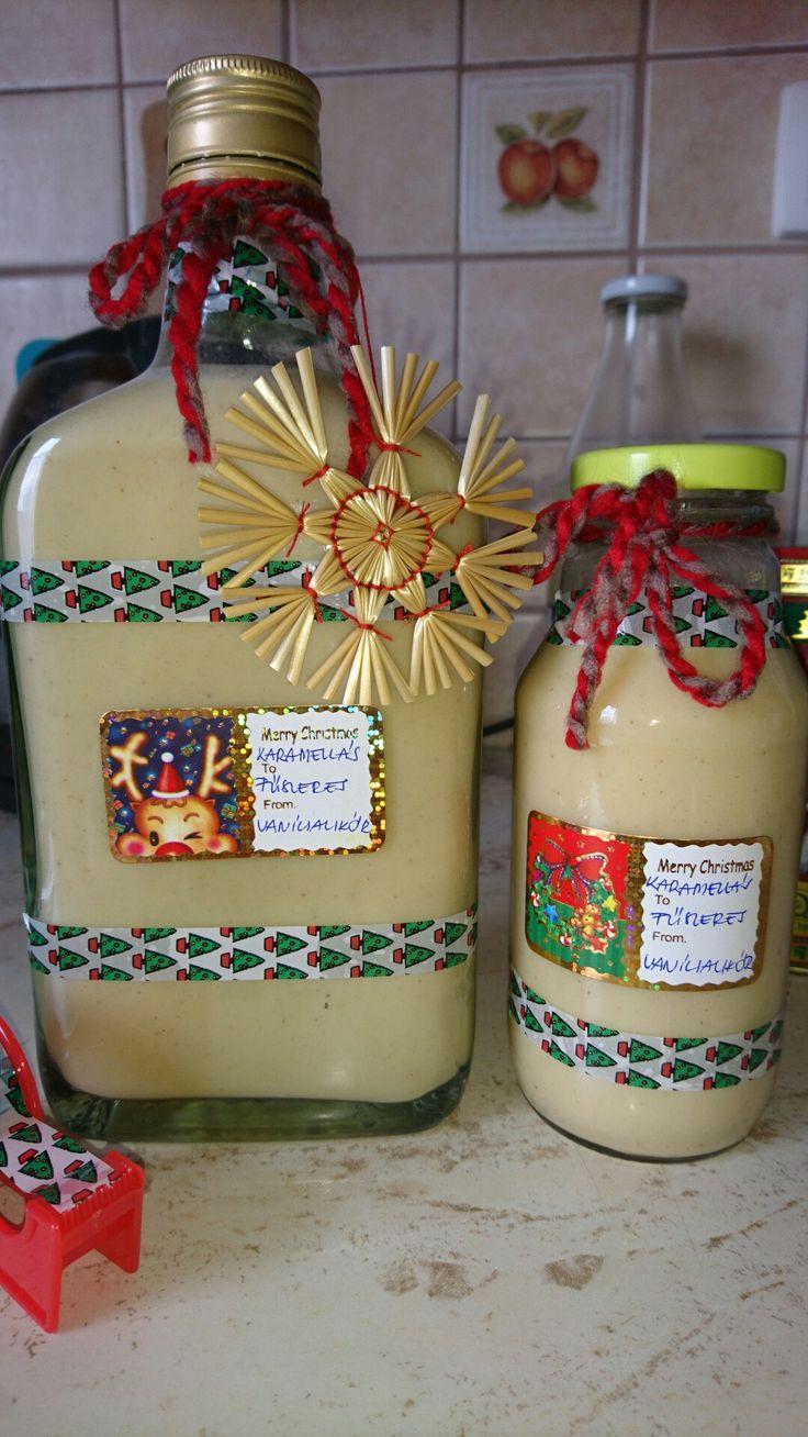Karamellás fűszeres vaníliakrémlikőr 💚🎄💚🎄💚