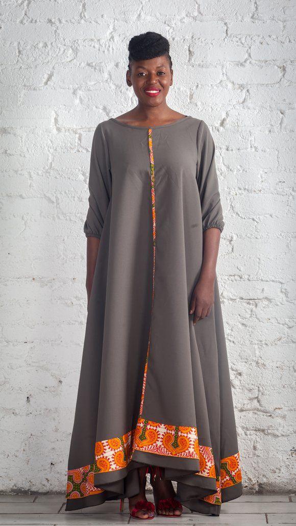 Urban Zulu African Print Dress