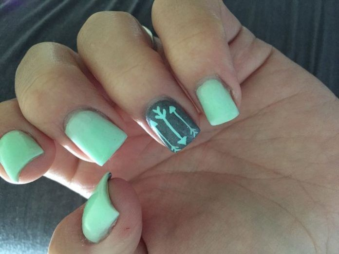 The 25+ best Turquoise nail designs ideas on Pinterest | Turquoise nail  art, Turquoise nail polish and Nail art with stones - The 25+ Best Turquoise Nail Designs Ideas On Pinterest Turquoise